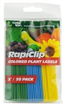Colored Plastic Plant Labels 5 Inch 30 pack