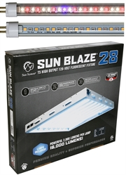 Sun Blaze LED Grow Light 168W 2ft 8 Lamp - Comes With Your Choice of AgroLED T5 Bulbs