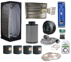 The 4 Plants Complete Package W/ 3x3 Tent & 315W CMH Kit & Accessories