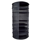 Dry Rack Partially Enclosed 8 Tiers 3FT