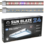 Sun Blaze LED Grow Light 84W 2ft 4 Lamp - Comes With Your Choice of AgroLED T5 Bulbs