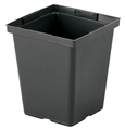 "Square Plastic Pots 4.5"" (pack of 10)"