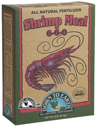 Down To Earth Shrimp Meal 6-6-0 2lbs