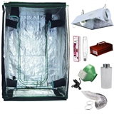 All-In-One Indoor Garden Package 4x4 Grow Tent w/ 1000HPS