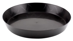 Heavy Duty Black Saucer 8""
