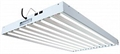 EnviroGro T5 4FT 8 Bulbs Fixture w/ Daylight Bulbs