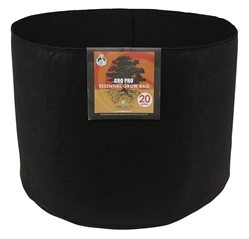 Gro Pro Round Fabric Pot 20 Gallon