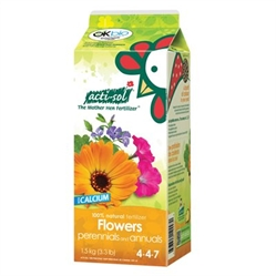 Acti-Sol Perrenial and Annual Flowers Organic Fertilizer (4-4-7) 1.5kg