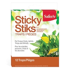 Safers Sticky Stiks Flying Insect Traps (pack of 12)