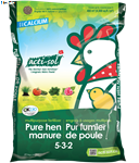 Acti-Sol Multi-Purpose Organic Fertilizer - Pure Hen Manure (5-3-2) 10kg