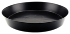 Heavy Duty Black Saucer 16""
