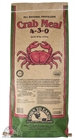 Down To Earth Crab Meal 3-4-0 20Lbs