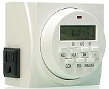 7 Day Heavy-Duty Double Outlet Digital Timer