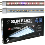 Sun Blaze LED Grow Light 328W 4ft 8 Lamp - Comes With Your Choice of AgroLED T5 Bulbs