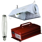 1000W Digital Ballast Light Kit Deluxe with Hortilux Lamp and Yield Master AC Reflector