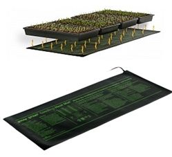 "Super Sprouter Seedling 4 Tray Heat Mat 48""x21"""