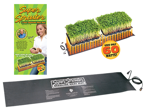 Supersprouter Double Heatmat 40x10